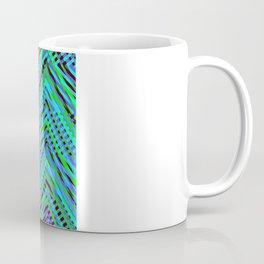 Chevron Blue Coffee Mug