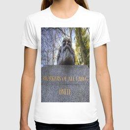 Karl Marx Memorial T-shirt