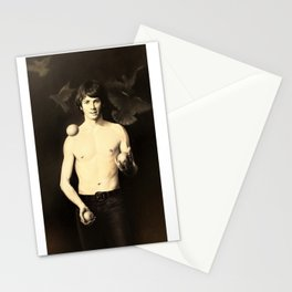 Juggling Magician Stationery Cards
