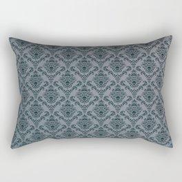 Pirate Damask Pattern Rectangular Pillow