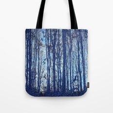 Denim Designs Winter Woods Tote Bag