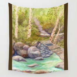 A Bridge to Morocco WC20150712a Wall Tapestry