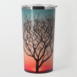 Beautiful Sunset Tree of Life  Travel Mug