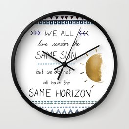 Same Sky V2 Wall Clock