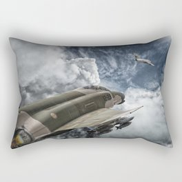 Phantom vs Mig 17 Rectangular Pillow