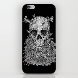Lumbermancer B/W iPhone Skin
