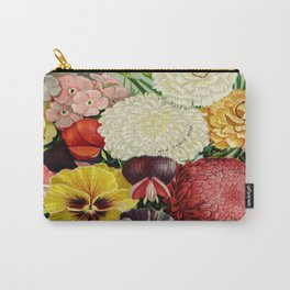 A. W. Livingston's Sons vintage flowers Carry-All Pouch