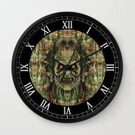 Old Corpse Wall Clock