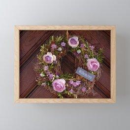 Welcome / Willkommen Framed Mini Art Print