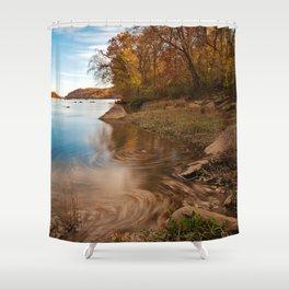 Autumn Susquehanna River Shower Curtain