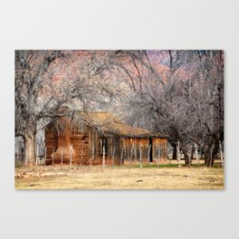 The Old West Canvas Print