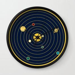 Atomic Solar System Wall Clock