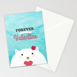 Baby Valentine Stationery Cards