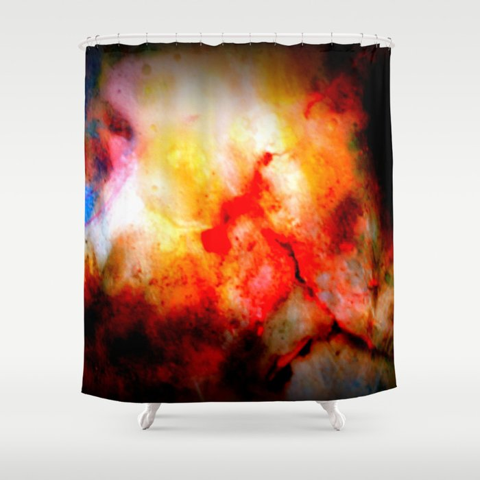 Bloodstones Shower Curtain