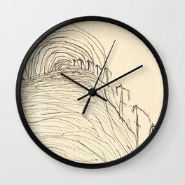 September Mirage Wall Clock