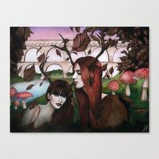 Strange Woodland Creatures Canvas Print