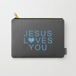 Jesus Loves You!!! Carry-All Pouch