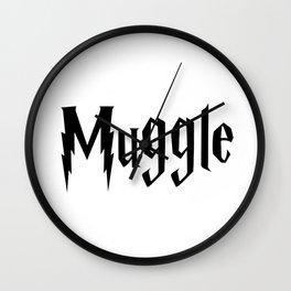 Muggle Wall Clock