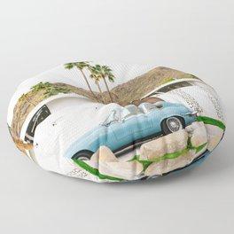 Palm Springs Ride Floor Pillow