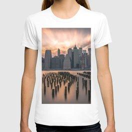 New york city long exposure T-shirt