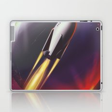 Wolf 359 Vintage science fiction space travel Laptop & iPad Skin