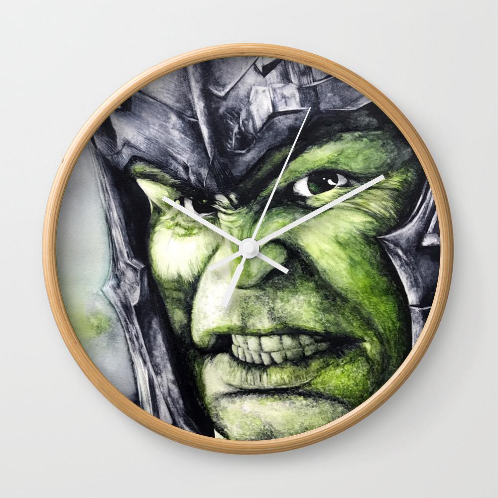 Smash: The Hulk Wall Clock by Legacyart CLK7715827
