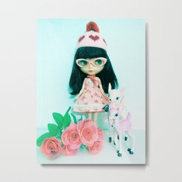 waiting for my valentine  Metal Print