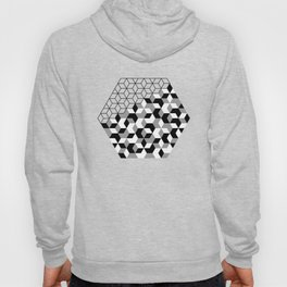 Hexagon(black) #2 Hoody