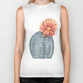 Gymnocalycium Baldianum - Cactus Flower Biker Tank