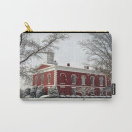 Side View of the Iron County Courthouse Carry-All Pouch