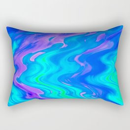 neon Rectangular Pillow