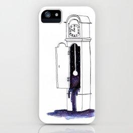 Cosmic Clock iPhone Case