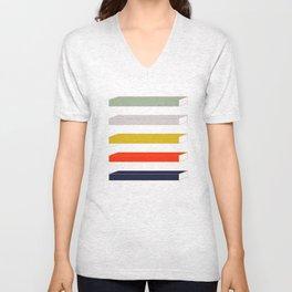 Rec Stripes Unisex V-Neck