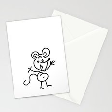 Funny Little Mouse Stationery Cards