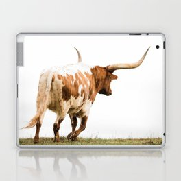 Longhorn Takin a Walk Laptop & iPad Skin