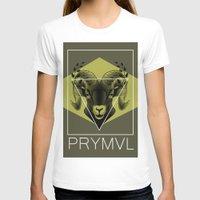 ram T-shirts featuring Ram by Ryan Ingram