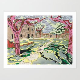 Garden at the Costa Brava Art Print
