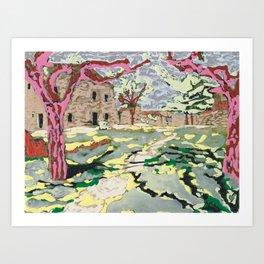 Garden at the Costa Brava Art Print
