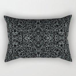 Etching Rectangular Pillow