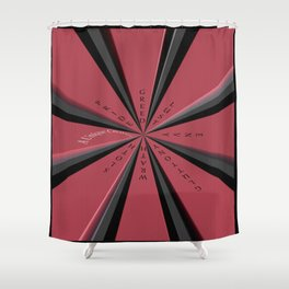 The 7 Deadly Sins Shower Curtain
