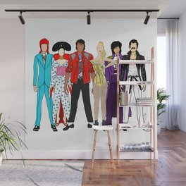 Retro Party 1 Wall Mural