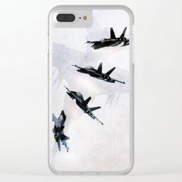 Superhornet Clear iPhone Case