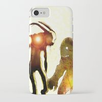 monsters iPhone & iPod Cases featuring Monsters by Joe Ganech