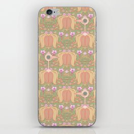 Get Out Of My Flowers You Idiot Birds iPhone Skin