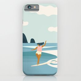 Wave Sisters iPhone Case