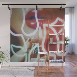 Burning Beauty Wall Mural