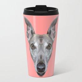 Whippet // Pink (Vespa) Travel Mug