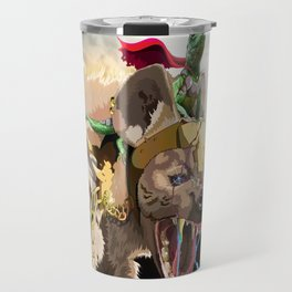Pet Hyena Travel Mug