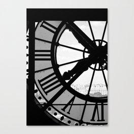 Clock Canvas Print