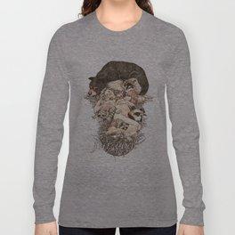 Fur Coat Long Sleeve T-shirt